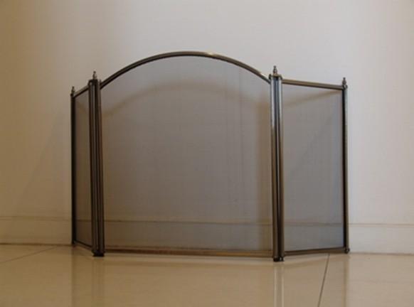 古铜色边框壁炉网