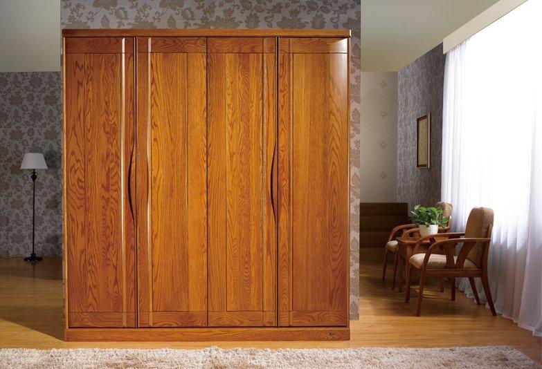 柜类家具淡雅-格瑞斯特实木新; 衣柜5; 柜类家具
